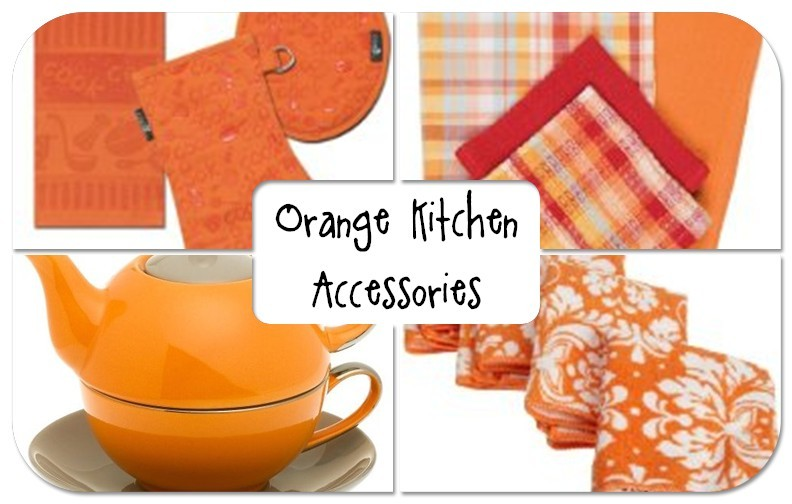 Home Product Reviews Orange Kitchen Accessories